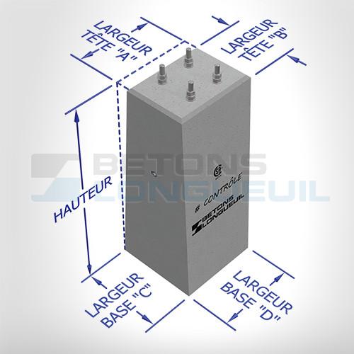 Produits pour lectricit b tons longueuil for Les bases en electricite